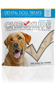 CheckUps Treats bag front
